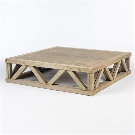 large square coffee table south of market
