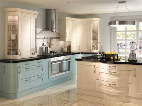 Blue Green Kitchen Cabinets by Bowfell Oak Cream Painted Kitchen Lark Amp Larks