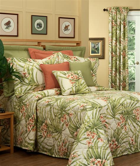tropical comforters cozumel bedspreads by thomasville at home tropical