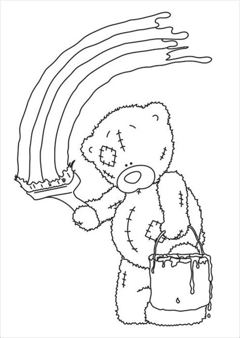 Free Coloring Pages Of Me To You Teddy Bear Me To You Colouring Pages