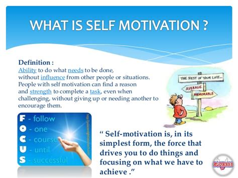 what is selves self motivation goal setting