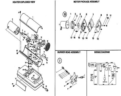 reddy heater parts diagram reddy heater parts pictures to pin on thepinsta