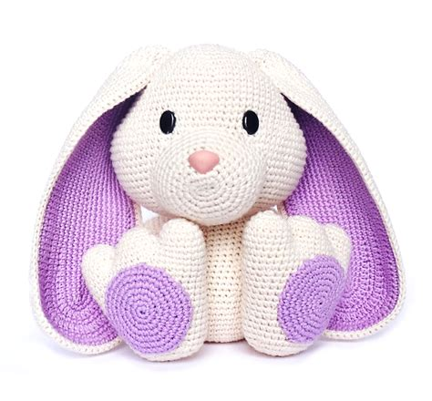Crochet Pattern Easter Bunny | easter bunny crochet pattern by rokiki craftsy