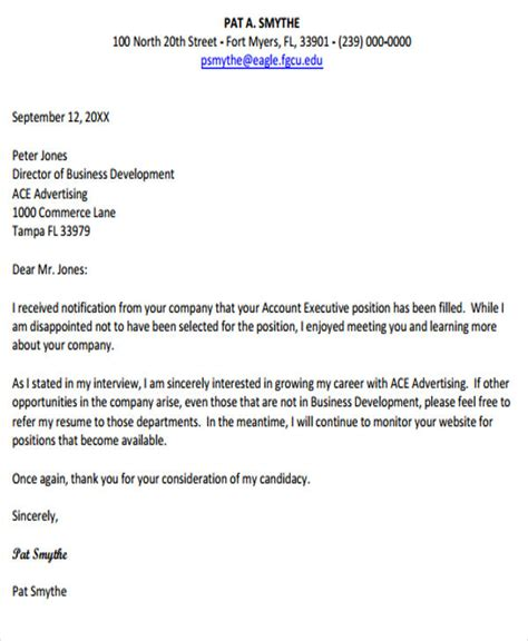 Letter Of Response To Business 14 response letter template free sle exle format