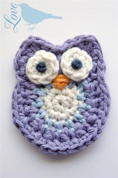 pattern crochet owl love the blue bird crochet owl pattern