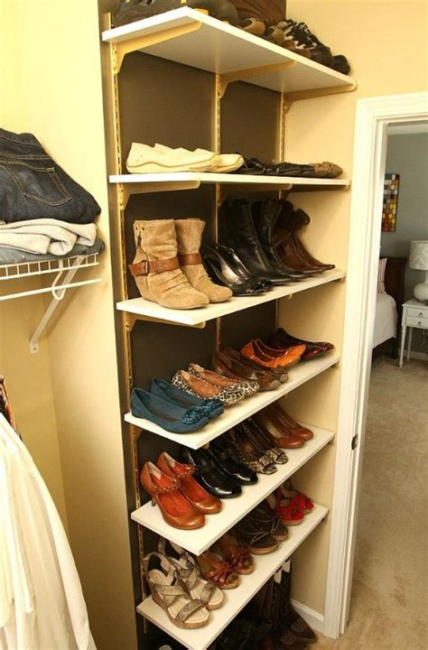 easy shoe storage 10 clever and easy ways to organize your shoes shelves