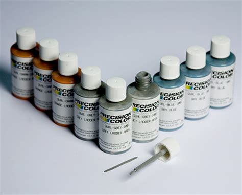 precision color paint product categories increditek
