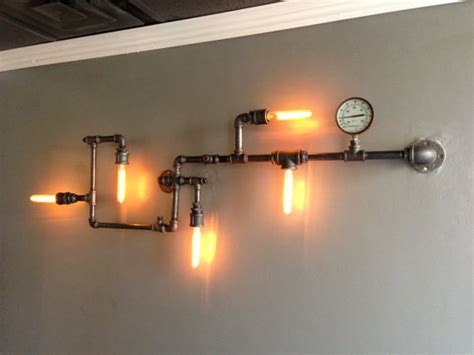 Pipe Light by Items Similar To Pipe Lighting On Etsy