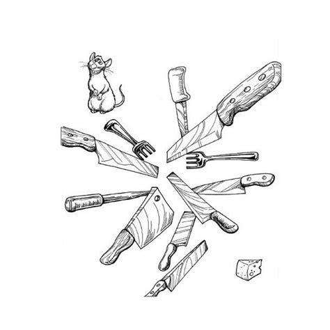 dessin animé de cuisine coloriages d objets cuisine page 3