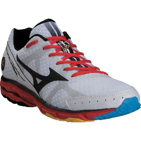 mizuno wave rider running shoes mizuno mens wave rider 17 running shoes wide 2e