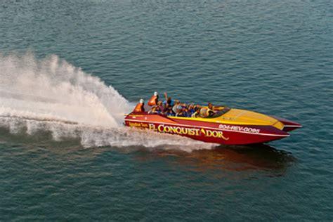 boat rides st augustine fl el conquistador speedboat thrill ride tour st