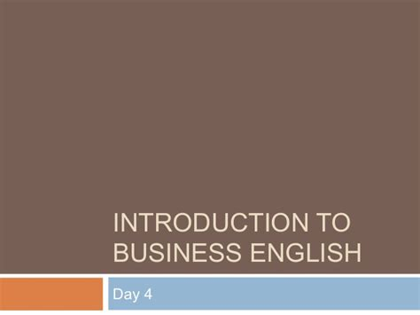 Introduction To Business Edisi 4 introduction to business day 4