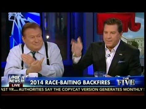 fox news bob beckel flips the bird on live television bob beckel gives jesse watters race baiting the finger