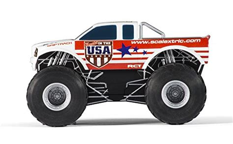 monster truck race track toys scalextric monster truck mayhem set 1 32 scale toys games toys play vehicles toy race car