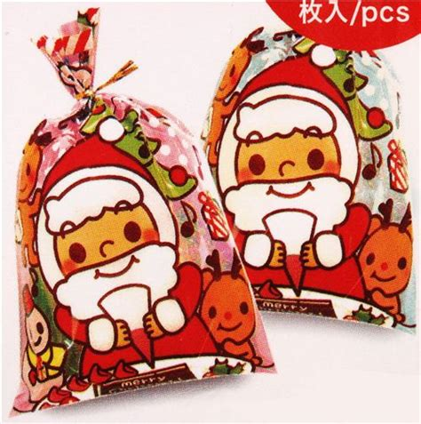 pink christmas gift bags sacks from japan bento