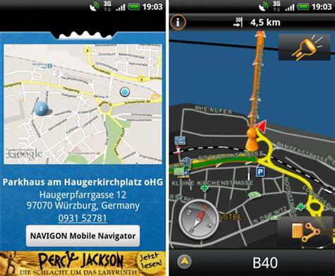 america map for navigon navigon launches help2park mobilenavigator update for