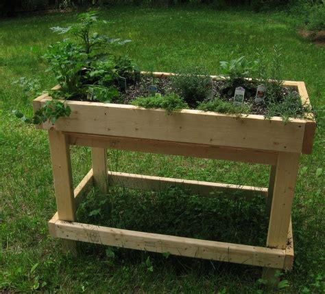 The Garden Table by What Are Table Gardens Information For Raised Garden Bed