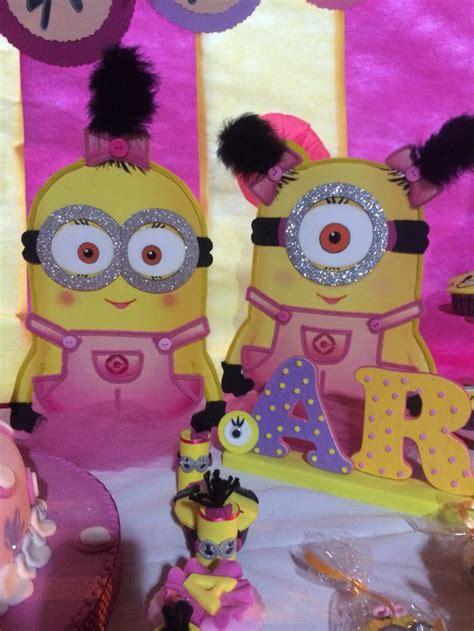 imagenes minions nena fiesta de minions ni 241 a creaciones y m fiestas