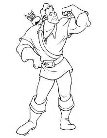 coloring page beauty and the beast coloring pages 15