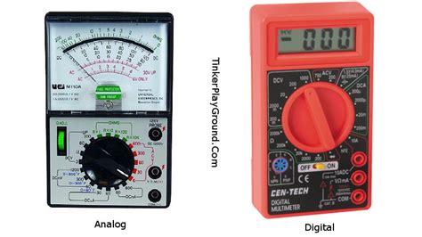 Multimeter Digital Dan Analog understanding the different types of multimeters best