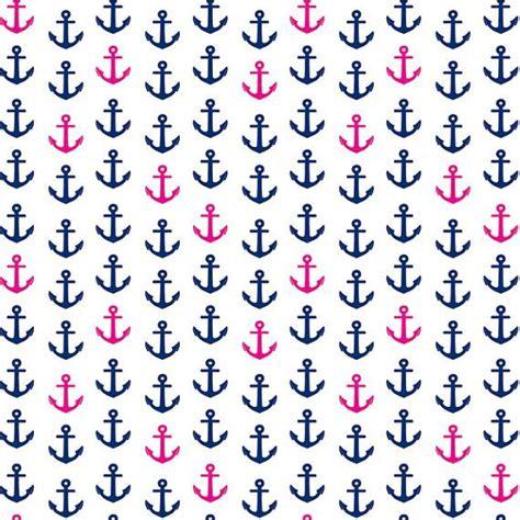 wallpaper pink navy navy and pink anchor background www pixshark com