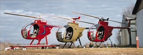 revolution helicopter mini 500 helicopter development