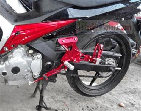 Step Belakang Motor Bebek kelebihan dan kekurangan menggunakan underbone rpmsuper