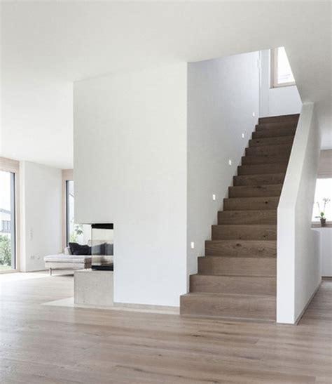 Farbgestaltung Treppenhaus Einfamilienhaus by Haus M Neubau Einfamilienhaus Treppenhaus