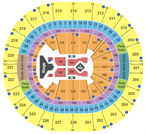 key arena seating chart adele cheap key arena tickets