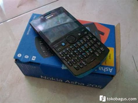 Hp Nokia Asha 205 Dual Sim nokia asha 205 qwerty dual sim forum jual beli gresik jawa timur