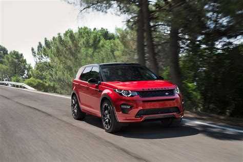 land rover discovery sport 2017 red 2017 land rover discovery sport reviews and rating motor