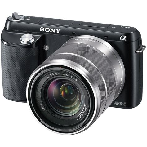 Digital Sony Lens Sony Alpha Nex F3 Mirrorless Digital Nexf3k B B H Photo