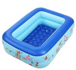 Bathtub For Toddlers 110 90 35 Kids Swimming Pool Inflatable Square Bathtub