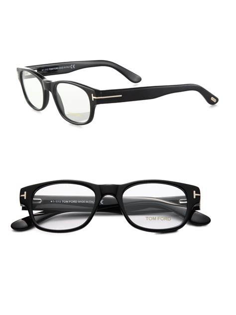tom ford 5276 optical frames with clip in black for lyst