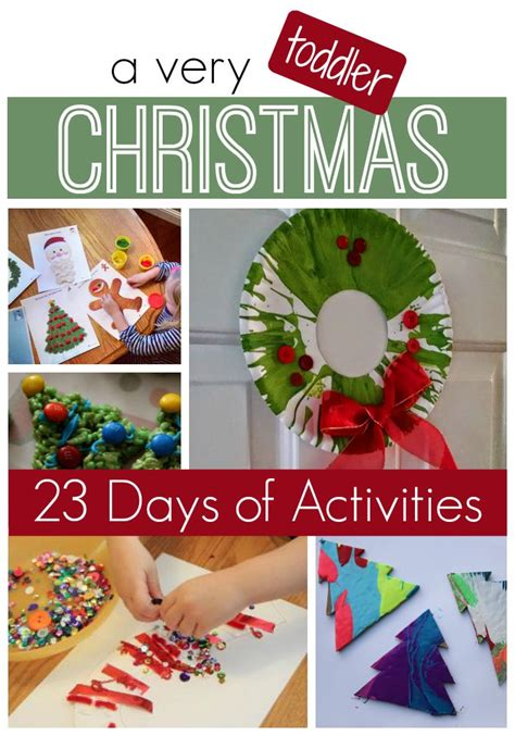 best christmas activities best activities for toddlers festival collections