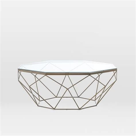 Geometric Side Table Geometric Coffee Table West Elm