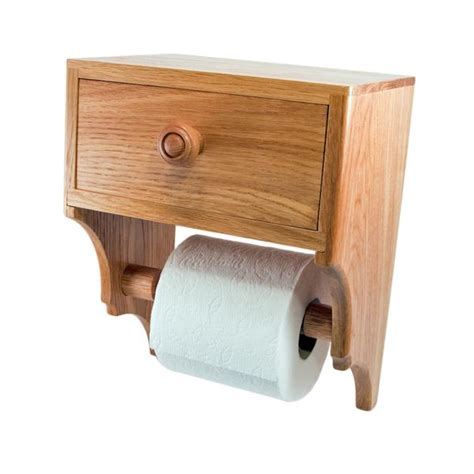 toilet roll holder wooden wall mounted arch back unique toilet tissue paper holder and convenience drawer