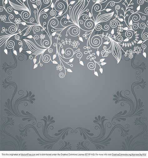 pattern vector no background flower swirl background pattern www imgkid com the