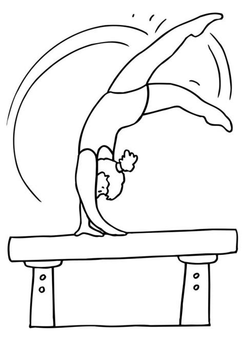 coloring pages to color online and print get this printable gymnastics coloring pages online vu6h13