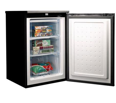 garage frostfrei buy logik luf55b13 undercounter freezer black free