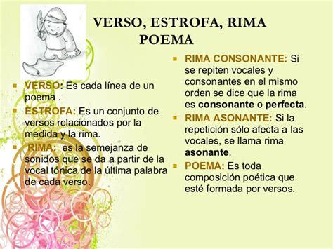imagenes sensoriales de un texto poetico poemas con estrofas versos y rimas images