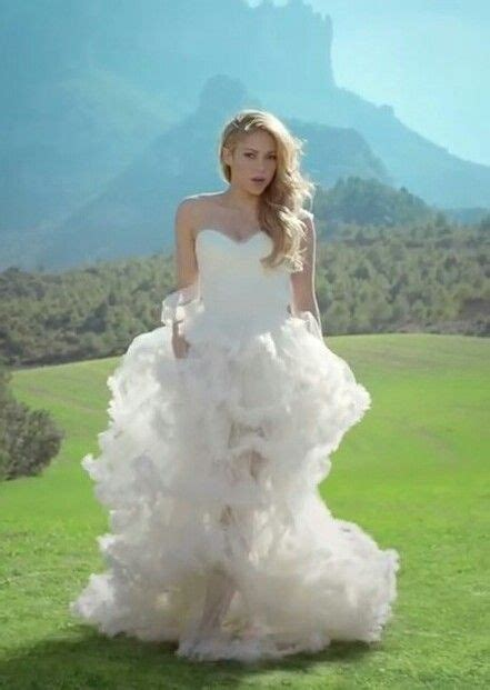 Dress Syakira shakira wedding dress this image include shakira