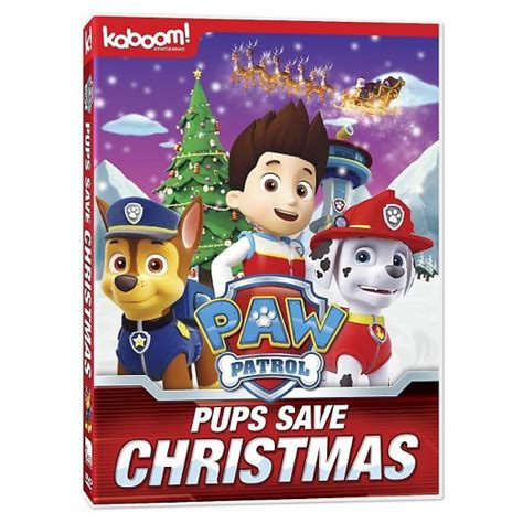 paw patrol winter rescues now on dvd mbsgiftguide giveaway paw patrol christmas winter fun movies target