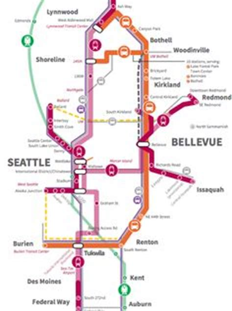 seattle railway map 1000 images about maps on seattle light