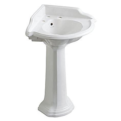 Kohler Kallista Sink by Kallista Stafford Corner Pedestal Sink P72002 00