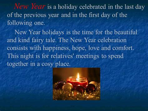 how people celebrate new year in different countries ppt