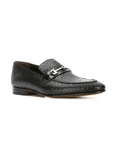 moreschi loafers lyst moreschi cuba loafers in black for