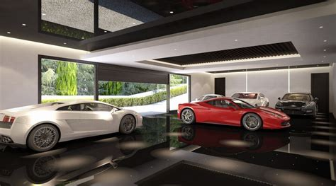 six car garage spanish home with indoor and outdoor swimming pool in