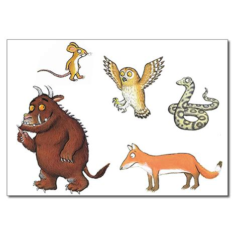 the gruffalo free the gruffalo mouse coloring pages