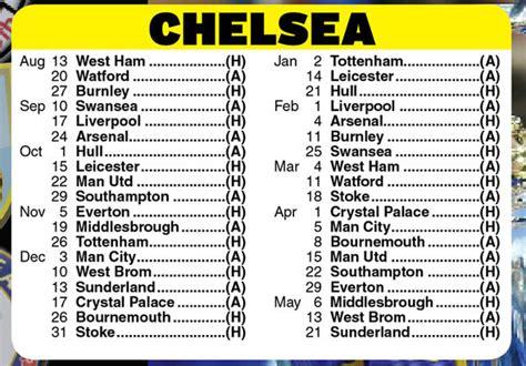 epl chelsea fixtures chelsea fixtures man utd s jose mourinho return date set